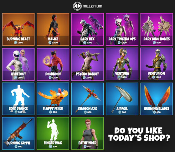 What's in the Fortnite Item Shop today? Ventura ...